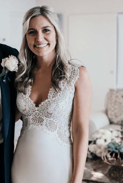 Lihi Hod – Size 8 A-Line dress | Second hand wedding dresses Bondi - Size 8