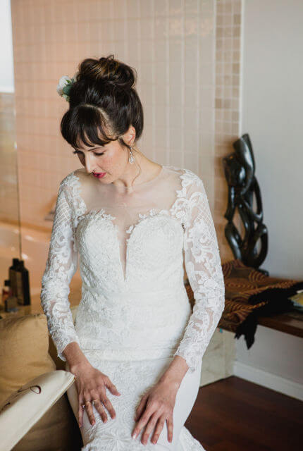 Bespoke / Other – Size 8 Fit and Flare dress | Second hand wedding dresses St Andrews - Size 8