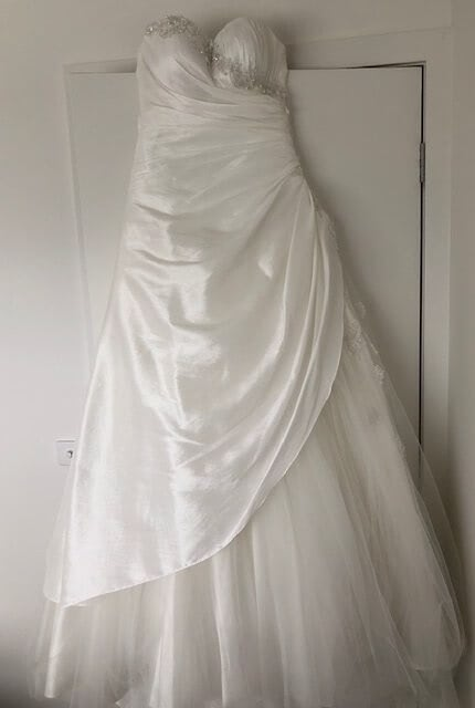 Bespoke / Other – Size 10 Strapless dress | Second hand wedding dresses Coburg North - 4