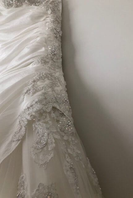 Bespoke / Other – Size 10 Strapless dress | Second hand wedding dresses Coburg North - 5