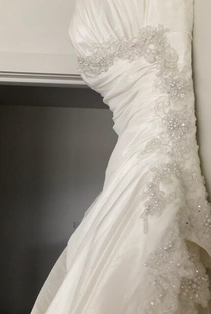 Bespoke / Other – Size 10 Strapless dress | Second hand wedding dresses Coburg North - 7