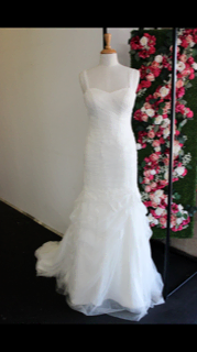 Martina Liana – Size 10 Fishtail dress | Second hand wedding dresses White gum valley - 3