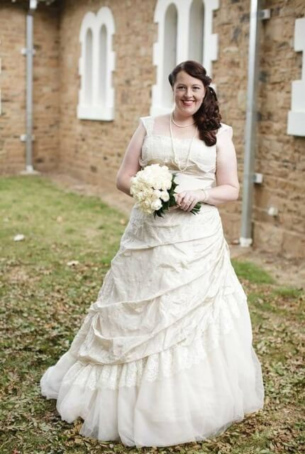 Fiorenza – Size 22 A-Line dress | Second hand wedding dresses Queanbeyan - Size 22