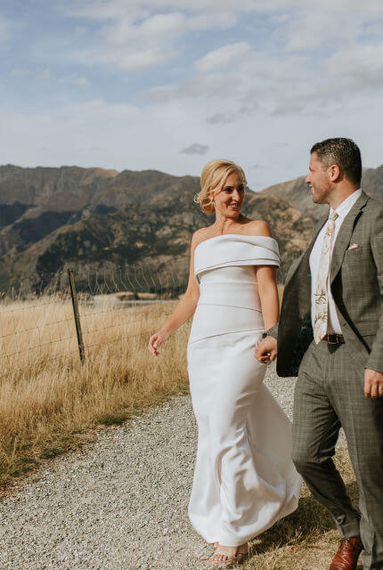 Cappellazzo Couture – Size 10 Fit and Flare dress | Second hand wedding dresses Surry Hills - 4