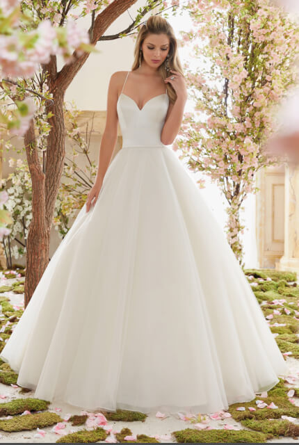 Mori Lee – Size 6 Ball Gown dress | Second hand wedding dresses Chermside - Size 6