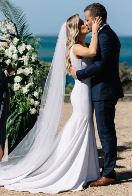 Made With Love Bridal – Size 8 Fit and Flare dress | Second hand wedding dresses Tarneit - 3