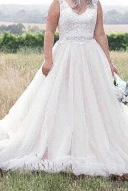 Allure Bridals – Size 10 Ball Gown dress | Second hand wedding dresses Cranbourne west - 2