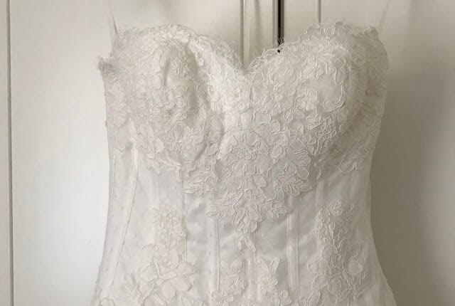 San Patrick – Size 8 A-Line dress | Second hand wedding dresses Highbury - 5