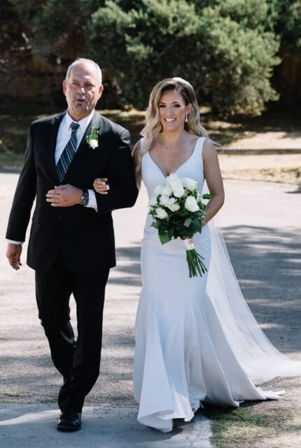 Made With Love Bridal – Size 8 Fit and Flare dress | Second hand wedding dresses Tarneit - Size 8