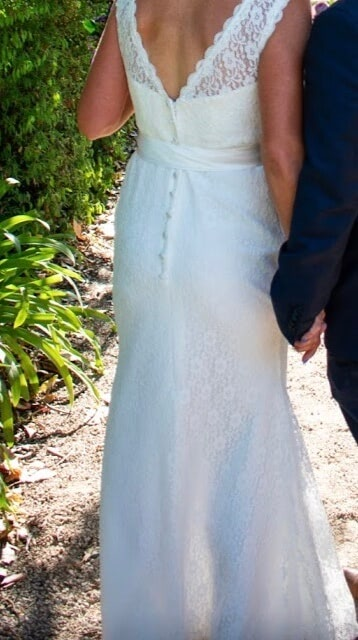 Bespoke / Other – Size 8 A-Line dress | Second hand wedding dresses Kilsyth - 4