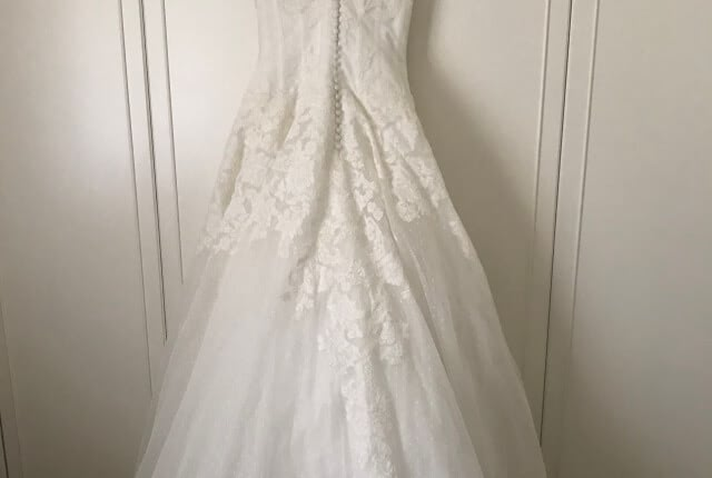 San Patrick – Size 8 A-Line dress | Second hand wedding dresses Highbury - 4
