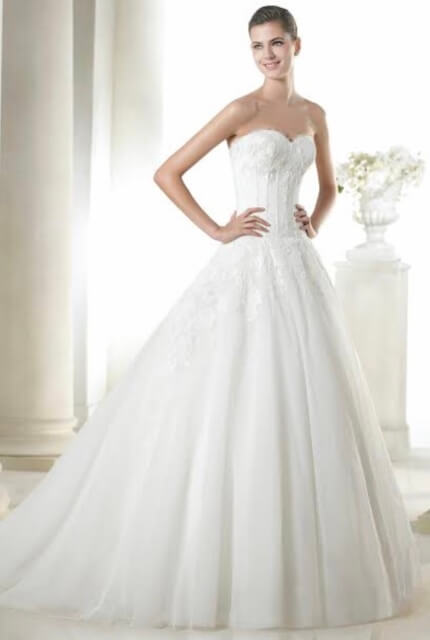 San Patrick – Size 8 A-Line dress | Second hand wedding dresses Highbury - Size 8