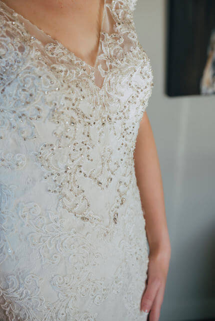 Collezione Bridal Couture – Size 10 Fit and Flare dress | Second hand wedding dresses Bibra Lake - 5