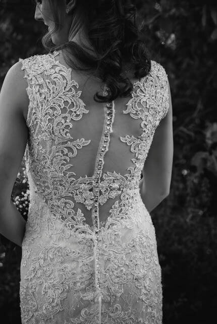 Collezione Bridal Couture – Size 10 Fit and Flare dress | Second hand wedding dresses Bibra Lake - 3