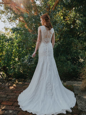 Fit and Flare dress by Collezione Bridal Couture