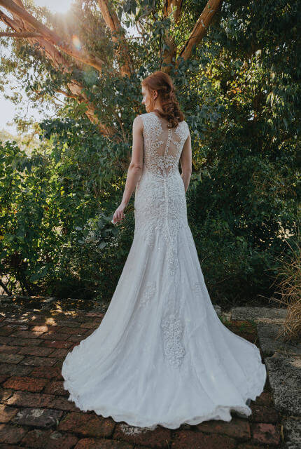 Collezione Bridal Couture – Size 10 Fit and Flare dress | Second hand wedding dresses Bibra Lake - Size 10