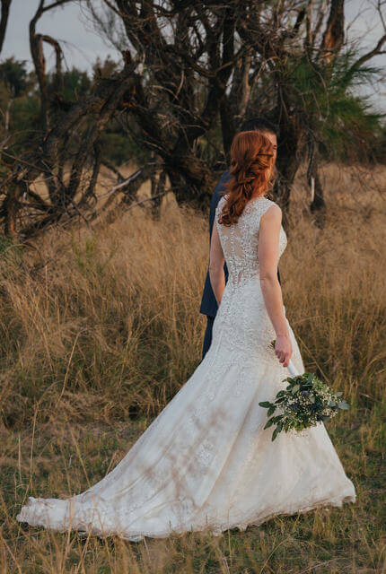 Collezione Bridal Couture – Size 10 Fit and Flare dress | Second hand wedding dresses Bibra Lake - 6