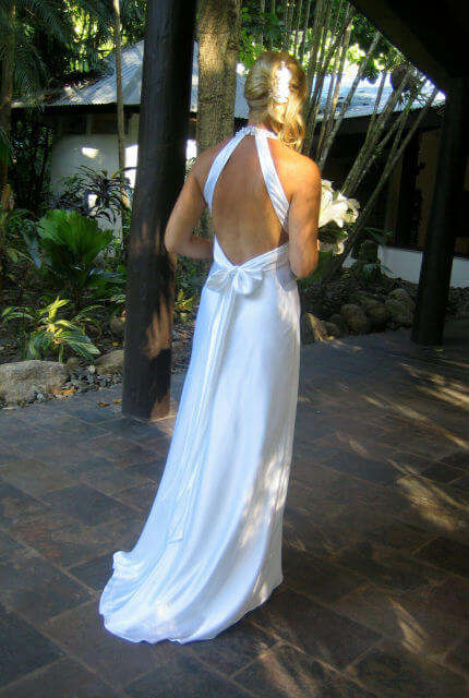 Bespoke / Other – Size 12 A-Line dress | Second hand wedding dresses Cairns - Size 12
