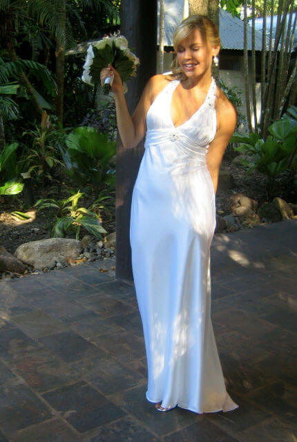 Bespoke / Other – Size 12 A-Line dress | Second hand wedding dresses Cairns - 2