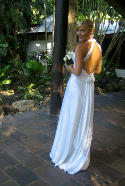 Bespoke / Other – Size 12 A-Line dress | Second hand wedding dresses Cairns - 3