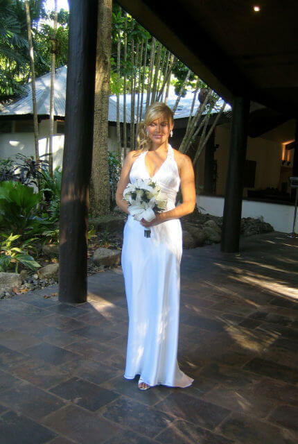 Bespoke / Other – Size 12 A-Line dress | Second hand wedding dresses Cairns - 4