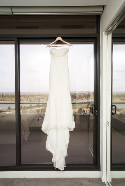 Allure Romance – Size 8 Fit and Flare dress | Second hand wedding dresses Melbourne - 2