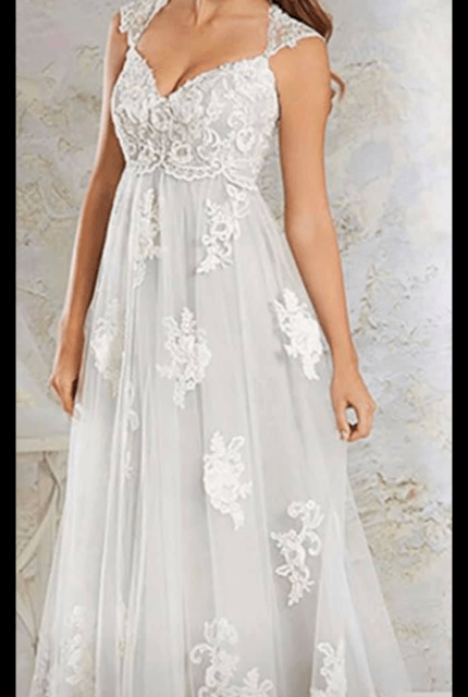 Bespoke / Other – Size 16 A-Line dress | Second hand wedding dresses Lithgow - Size 16