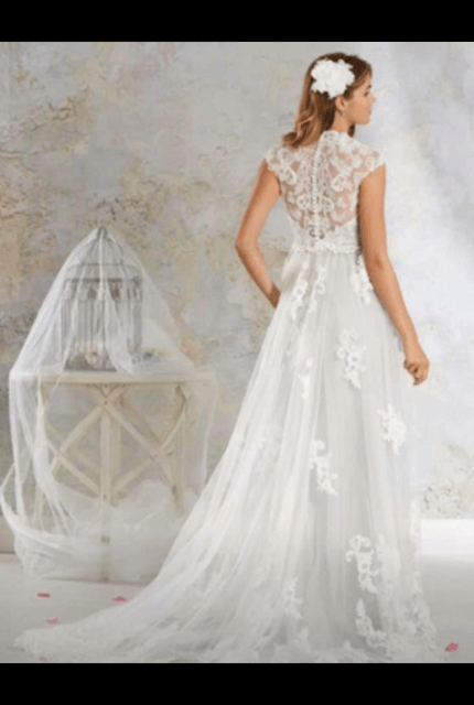 Bespoke / Other – Size 16 A-Line dress | Second hand wedding dresses Lithgow - 2