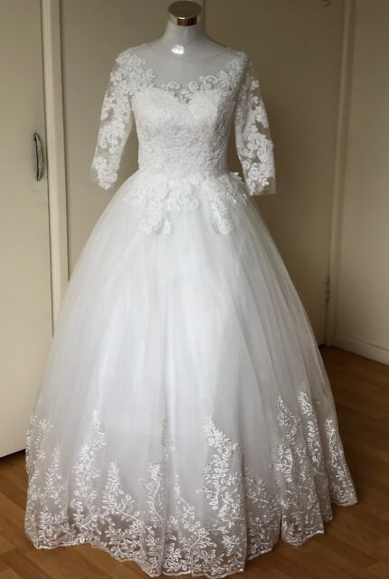 Bespoke / Other – Size 10 Ball Gown dress | Second hand wedding dresses Padstow - Size 10