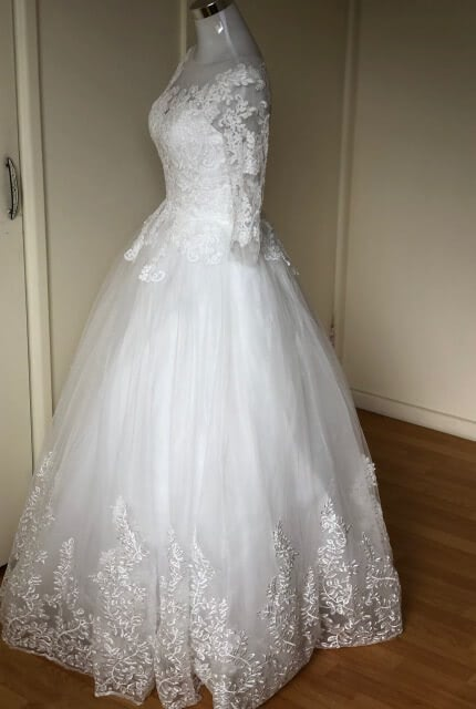 Bespoke / Other – Size 10 Ball Gown dress | Second hand wedding dresses Padstow - 2