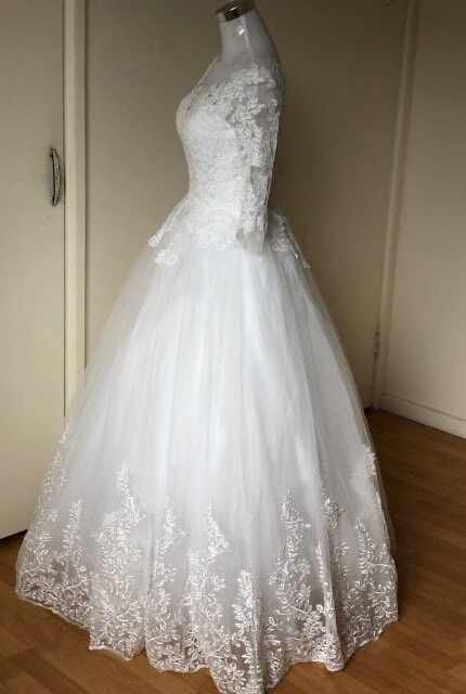 Bespoke / Other – Size 10 Ball Gown dress | Second hand wedding dresses Padstow - 3