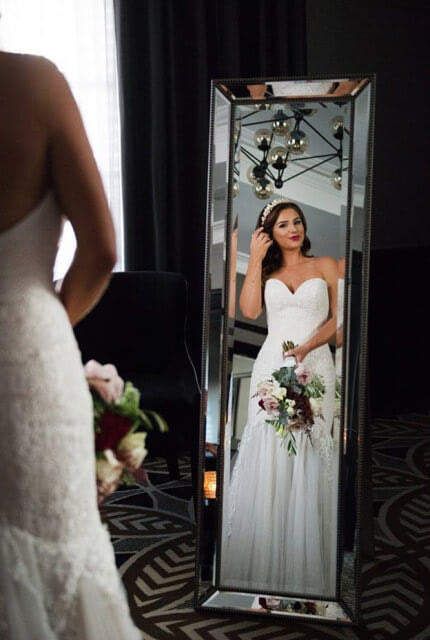 Brides Desire – Size 8 Fit and Flare dress | Second hand wedding dresses Newport - 2