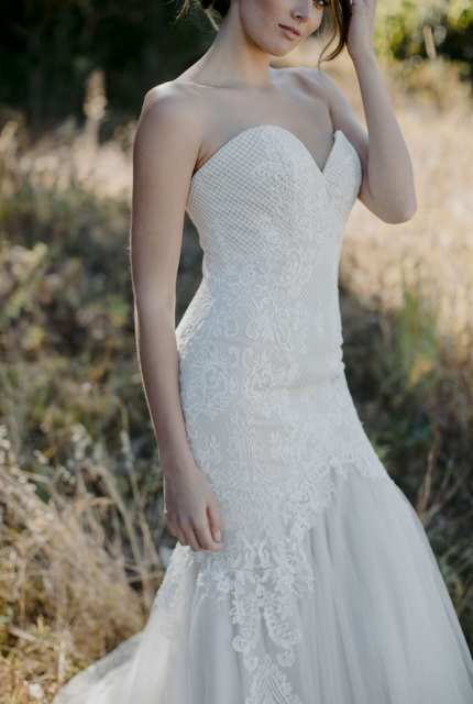 Brides Desire – Size 8 Fit and Flare dress | Second hand wedding dresses Newport - 6