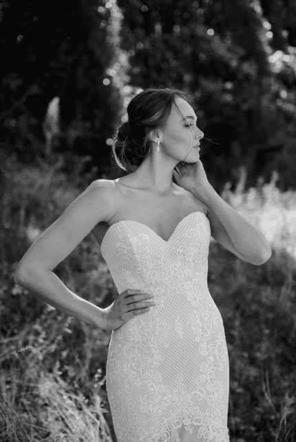 Brides Desire – Size 8 Fit and Flare dress | Second hand wedding dresses Newport - 5