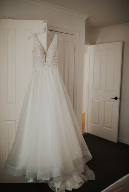 Jack Sullivan – Size 10 A-Line dress | Second hand wedding dresses Bonbeach - 2