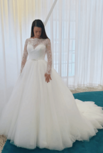Nicole Spose – Size 10 Ball Gown dress | Second hand wedding dresses Kensington - 4