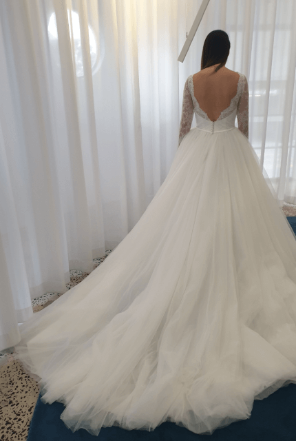 Nicole Spose – Size 10 Ball Gown dress | Second hand wedding dresses Kensington - 5