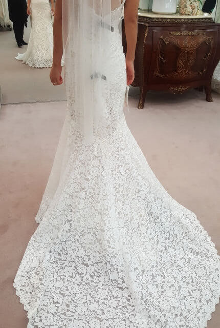 Abbey Bridal – Size 6 Fit and Flare dress | Second hand wedding dresses Wolli Creek - 5