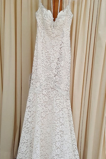 Abbey Bridal – Size 6 Fit and Flare dress | Second hand wedding dresses Wolli Creek - 3