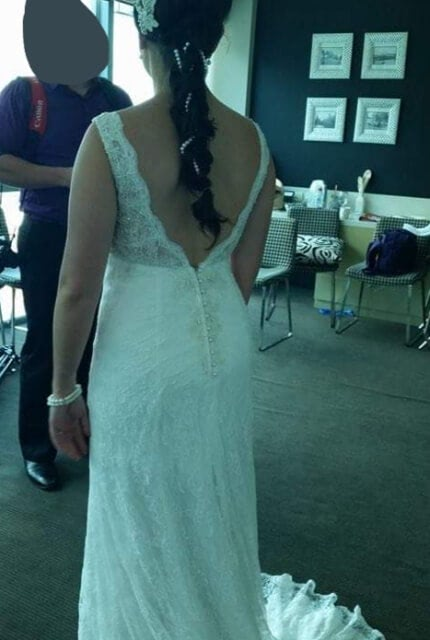 Bespoke / Other – Size 10 Fit and Flare dress | Second hand wedding dresses MacGregor - 2