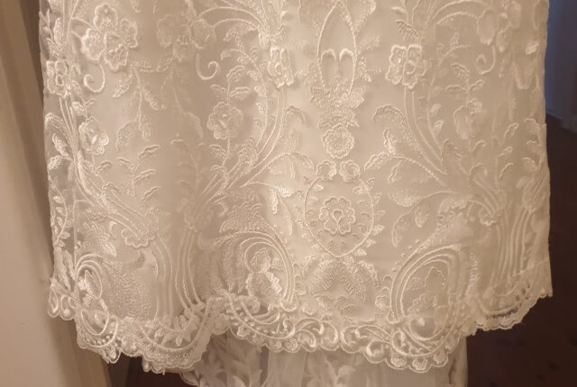 Made With Love Bridal – Size 6 Fishtail dress | Second hand wedding dresses Southport - 3