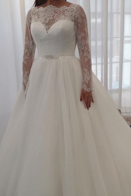 Nicole Spose – Size 10 Ball Gown dress | Second hand wedding dresses Kensington - 9