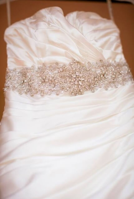 Maggie Sottero – Size 6 Trumpet dress | Second hand wedding dresses Townsville - 2