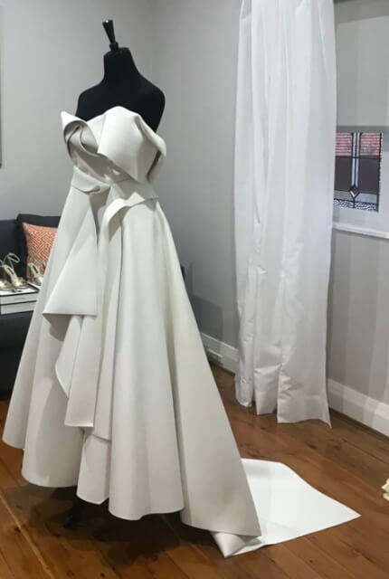 Cappellazzo Couture – Size 8 A-Line dress | Second hand wedding dresses Earlwood - 5