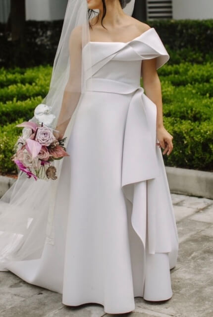 Cappellazzo Couture – Size 8 A-Line dress | Second hand wedding dresses Earlwood - Size 8