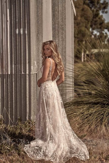 Cizzy Bridal – Size 12 A-Line dress | Second hand wedding dresses Pearsall - 7