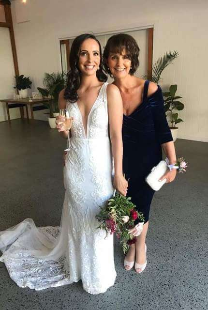 Made With Love Bridal – Size 6 Fishtail dress | Second hand wedding dresses Southport - 2