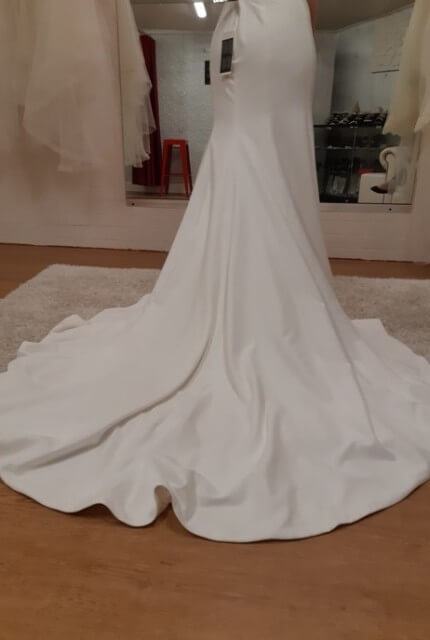 Sweetheart Gowns – Size 12 Fit and Flare dress | Second hand wedding dresses Casey - 6