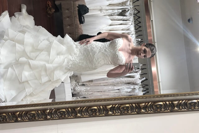 Idora Bridal – Size 8 Fit and Flare dress | Second hand wedding dresses Penshurst - Size 8