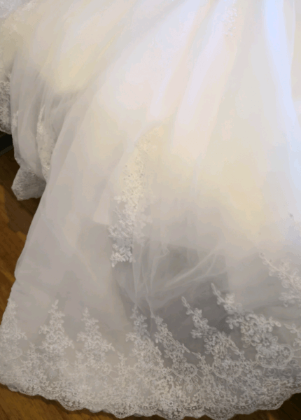 Bespoke / Other – Size 6 Ball Gown dress | Second hand wedding dresses Doncaster East - 3